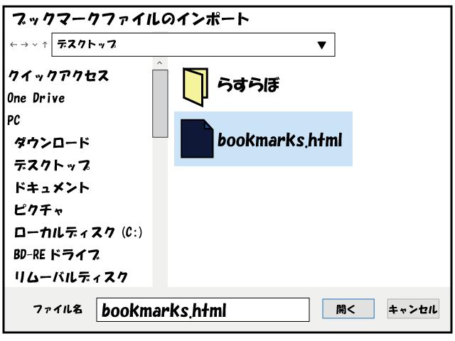 すら ら ブックマーク